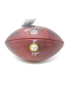 Pittsburgh Steelers 10.13.2019 Game Used Football #9 vs. LA Chargers