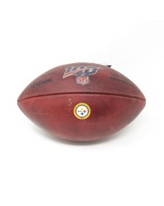 Pittsburgh Steelers 8.25.2019 Game Used Football 3 vs. Titans