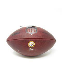Pittsburgh Steelers 9.20.2020 Game Used Football vs. Broncos