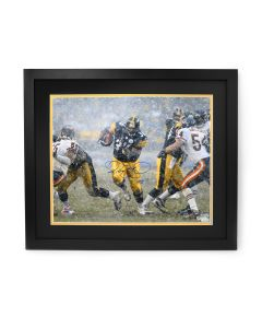 Pittsburgh Steelers #36 Jerome Bettis Autographed and Framed 16x20 Horizontal Photo