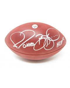 Pittsburgh Steelers Team Issued HOF Game Ball from 8.9.2015 Signed by #36 Jerome Bettis