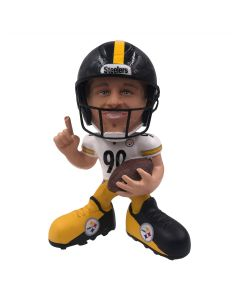 Pittsburgh Steelers #90 T.J. Watt Mini Showstomperz Bobblehead