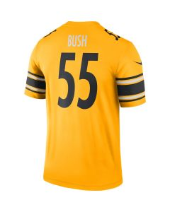 Devin Bush #55 Men's Nike Inverted Color Rush Legend Jersey T-Shirt