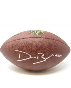 Pittsburgh Steelers #55 Devin Bush Autographed NFL Replica Duke Football