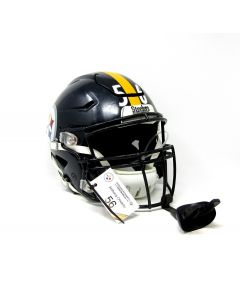 Pittsburgh Steelers #56 Anthony Chickillo 2017 Game Used Helmet