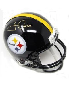 Pittsburgh Steelers #30 James Conner Autographed Riddell ProLine Authentic Full Size Helmet