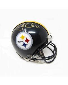 Pittsburgh Steelers #30 James Conner Signed Riddell Mini Helmet
