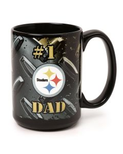 Pittsburgh Steelers Black and Gold #1 Dad Mug