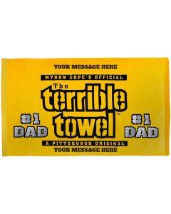 Pittsburgh Steelers Custom Dad Terrible Towel