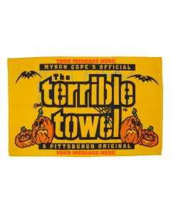 Pittsburgh Steelers Custom Halloween Terrible Towel