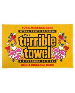 Pittsburgh Steelers Custom Mom Terrible Towel