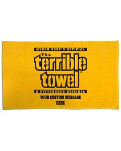 Pittsburgh Steelers Custom Terrible Towel