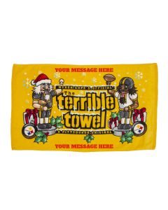 Pittsburgh Steelers Custom Nutcracker Terrible Towel