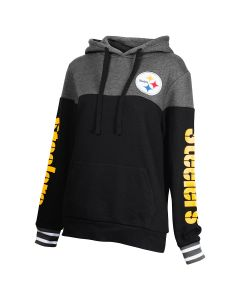 Pittsburgh Steelers Women's Freeplay Pullover Fleece Hoodie