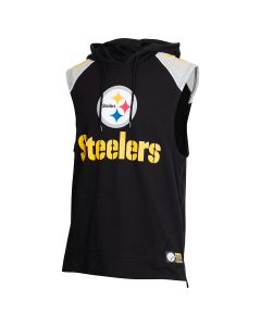 Pittsburgh Steelers Fullback Sleeveless Hoodie