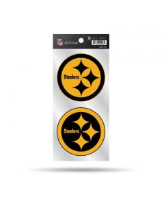 Pittsburgh Steelers Color Rush Double Up Stickers