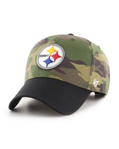 Pittsburgh Steelers '47 MVP Back Grove Camo Hat
