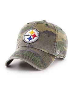 Pittsburgh Steelers '47 Camo CLEAN UP Hat