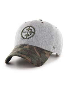 Pittsburgh Steelers '47 Hitchner Camo CLEAN UP Hat