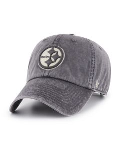 Pittsburgh Steelers '47 Hudson Grey CLEAN UP Hat