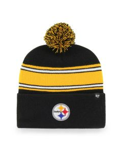 Pittsburgh Steelers '47 Team Stripe Knit Hat