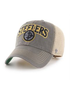 Pittsburgh Steelers '47 Charcoal Tuscaloosa CLEAN UP Hat