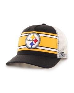 Pittsburgh Steelers '47 MVP DP Team Stripe Mesh Hat