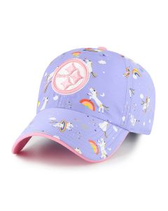 Pittsburgh Steelers '47 Girls' CLEAN UP Unicorn Hat