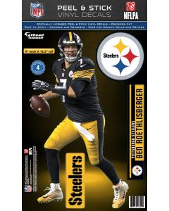 Pittsburgh Steelers #7 Ben Roethlisberger Fathead Decal
