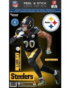 Pittsburgh Steelers #90 T.J. Watt Fathead Decal