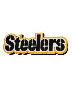Pittsburgh Steelers 3D Wordmark Magnet