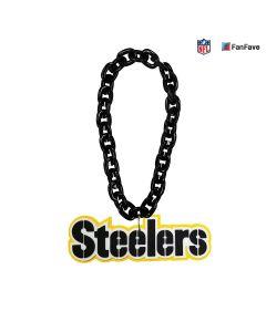 Pittsburgh Steelers Stencil Wordmark Fan Chain