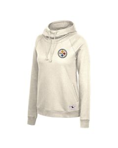 Pittsburgh Steelers Women's Mitchell & Ness Funnel Neck Fleece