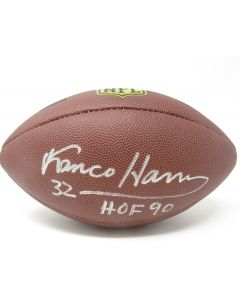 Pittsburgh Steelers #32 Franco Harris Autographed NFL Replica Duke Football