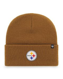 Pittsburgh Steelers '47 Brand Carhartt Cuff Brown Knit Hat
