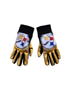 Pittsburgh Steelers Big Logo Cropped Texting Gloves