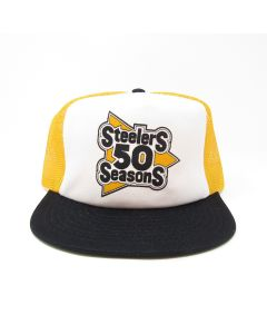 Pittsburgh Steelers Team Issued 1982 Steelers 50 Seasons Trucker Hat