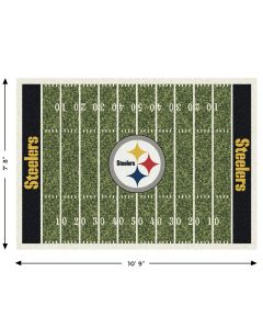 "Pittsburgh Steelers Team Field 7'8"" x 10'9"" Rug"