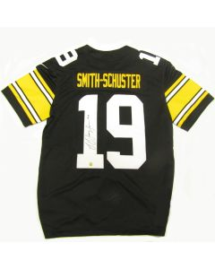 Pittsburgh Steelers #19 JuJu Smith-Schuster Autographed Nike Limited Home Throwback Jersey