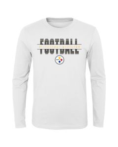 Pittsburgh Steelers Little Boys EXCLUSIVE Union Long Sleeve T-Shirt