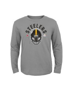Pittsburgh Steelers Boys' Stare Down Long Sleeve T-Shirt