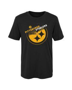 Pittsburgh Steelers Boys' Flux Mix Short Sleeve T-Shirt