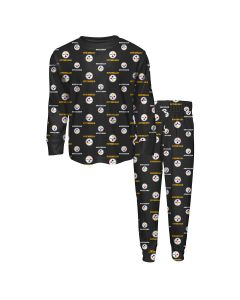 Pittsburgh Steelers Little Kids' AOP Sleepwear Set