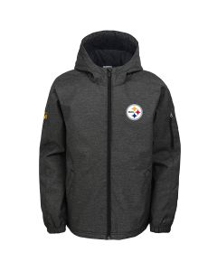 Pittsburgh Steelers Boys Mediumweight Warm Up Jacket