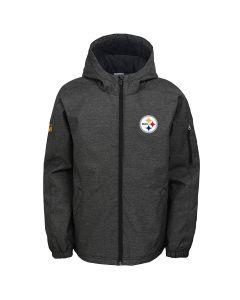 Pittsburgh Steelers Boys Mediumweight Warm Up Jacket