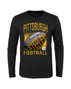 Pittsburgh Steelers Little Boys' Screen Play Long Sleeve T-Shirt