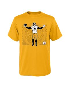 Pittsburgh Steelers Boys' JuJu Celebration Short Sleeve T-Shirt