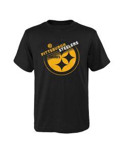 Pittsburgh Steelers Little Boys' Flux Mix Short Sleeve T-Shirt