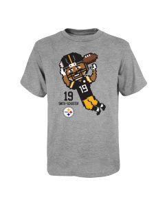 Pittsburgh Steelers Boys' JuJu Pixel Player Short Sleeve T-Shirt