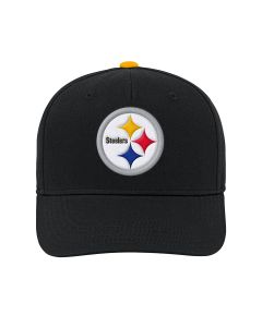 Pittsburgh Steelers Youth Precurve Snapback Hat